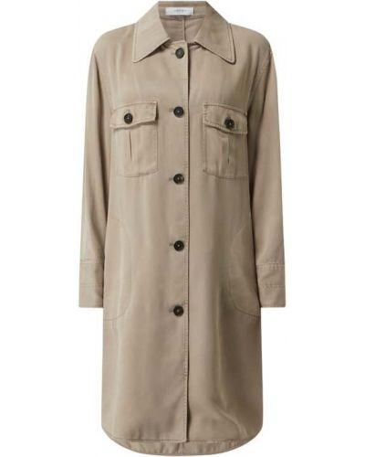 Sukienka rozkloszowana krótki rękaw - beżowa Blonde No. 8