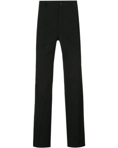 Прямые брюки черные Mackintosh 0002