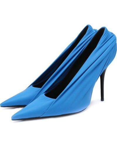 Туфли на высоком каблуке кожаные на шпильке Balenciaga