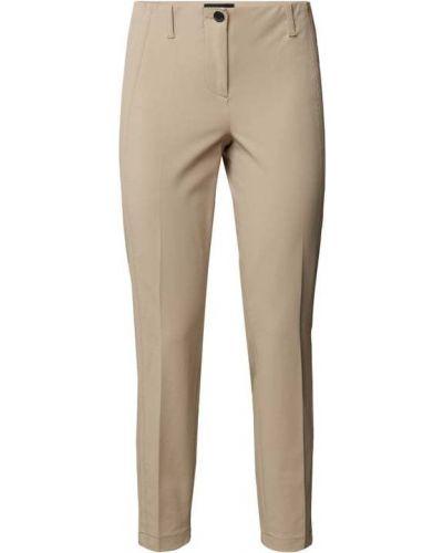 Beżowe spodnie bawełniane Cambio