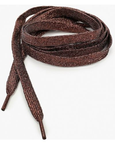 Коричневые шнурки на шнурках красная жара