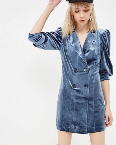 Платье серое платье-пиджак Ivyrevel