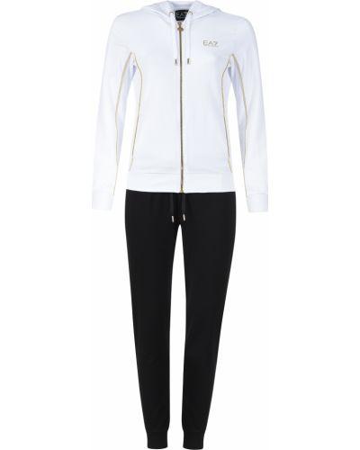 Спортивный костюм белый Ea7 Emporio Armani