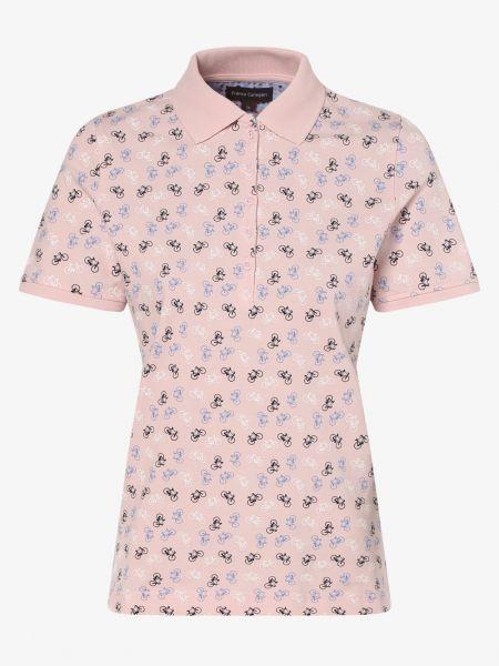 Koszulka polo różowy Franco Callegari