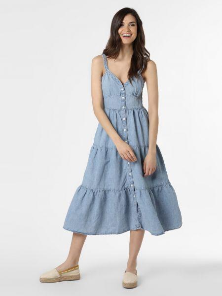 Niebieska sukienka midi Levi's