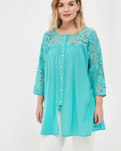 Блузка бирюзовая весенний Zarus`