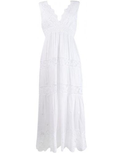 Платье миди расклешенное с V-образным вырезом Temptation Positano