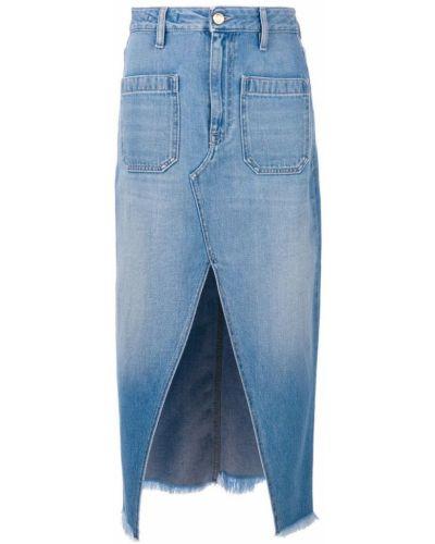 Юбка миди джинсовая синяя The Seafarer