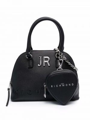Черная сумка металлическая John Richmond
