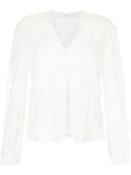 Белая блузка из вискозы Iro