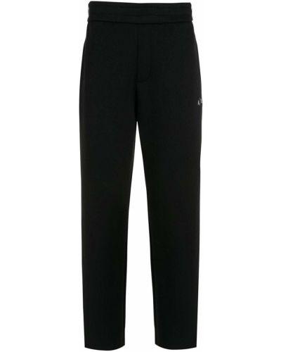 Черные брюки с поясом Armani Exchange