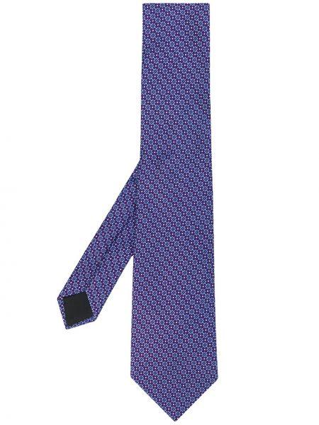 Фиолетовый галстук Lanvin