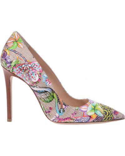 Кожаные туфли Etro