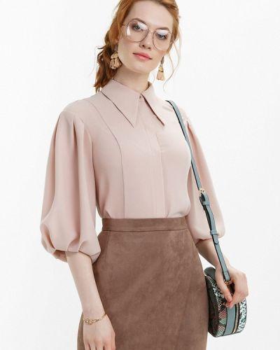 Блузка с длинным рукавом бежевый Audrey Right