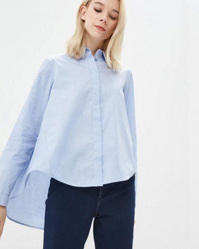 Голубая блузка с длинным рукавом Imperial