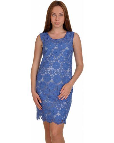 Хлопковое платье - синее Elisa Landri