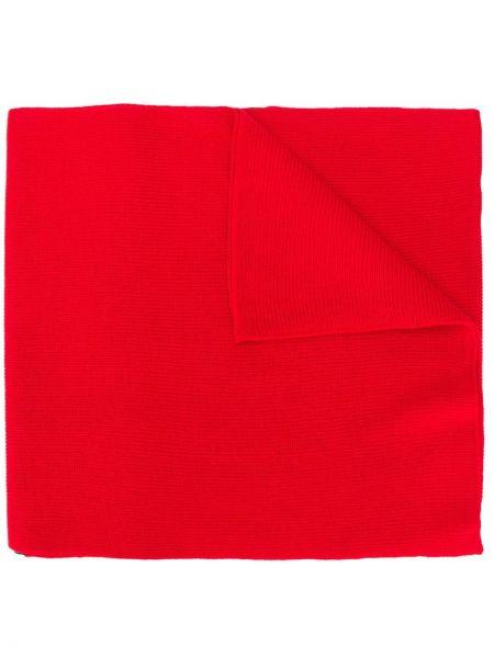 Шарф длинный красный Versace