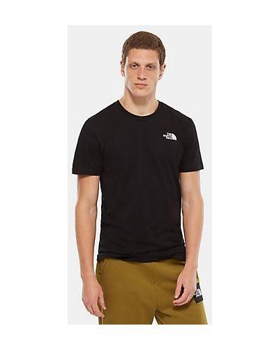 Черная футболка The North Face