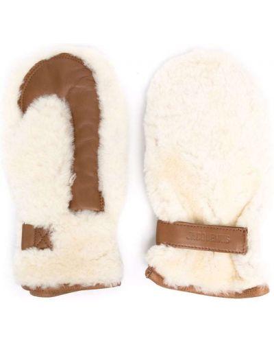 Rękawiczki - białe Jacquemus