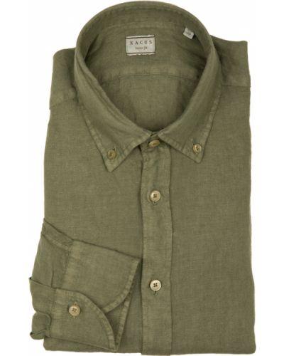 Zielona koszula Xacus