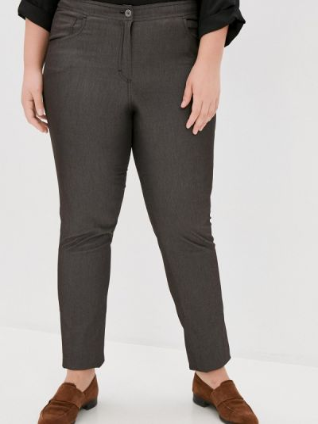 Серые зауженные брюки Silver String