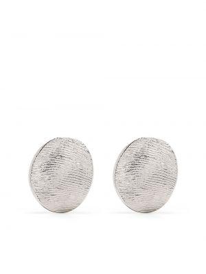 Серебряные серьги на кнопках Lemaire