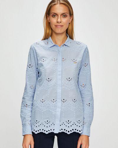 Блузка с длинным рукавом с вышивкой прямая U.s. Polo