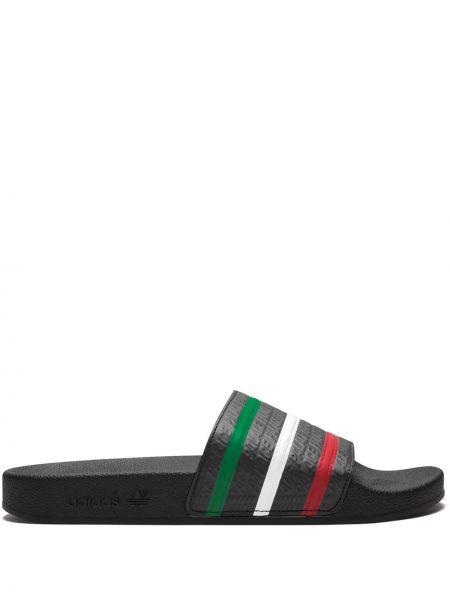 Шлепанцы черные Adidas