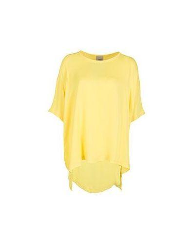 Желтая футболка Nude