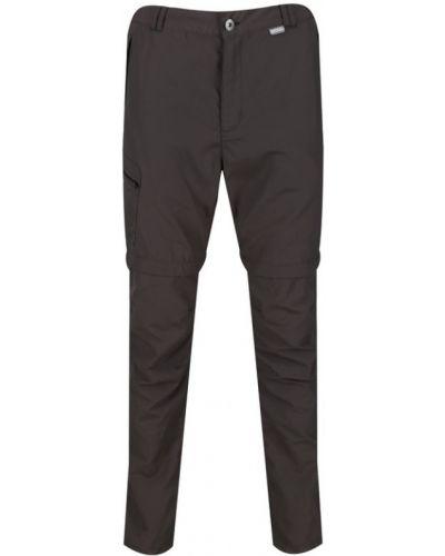 Брюки с карманами - серые Regatta