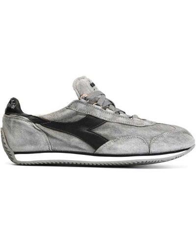 Кожаные кроссовки замшевые Diadora