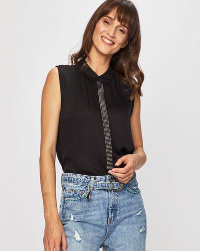 Топ на пуговицах - черный Guess Jeans