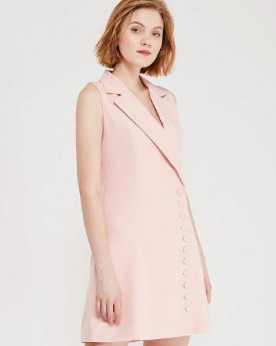 Платье весеннее розовое Paccio