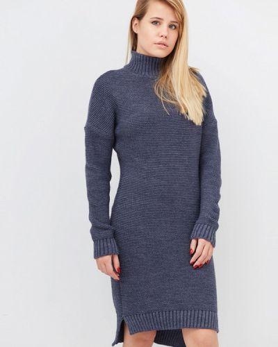 Платье - синее Прованс