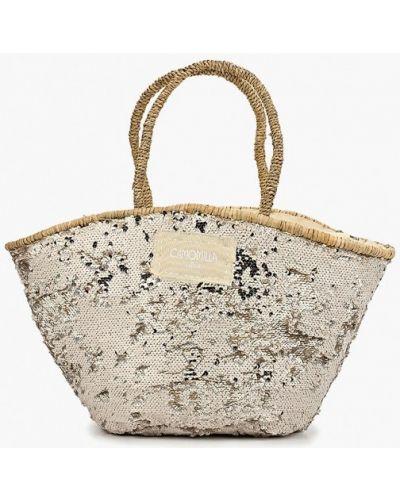 Пляжная сумка соломенная весенний Camomilla Italia