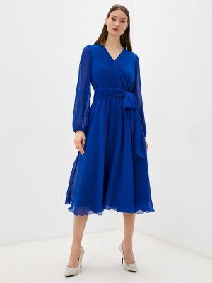 Вечернее платье - синее Seam