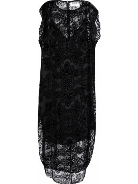 Платье из вискозы осеннее Oneteaspoon