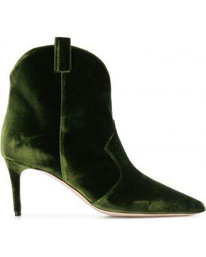 Зеленые сапоги Deimille