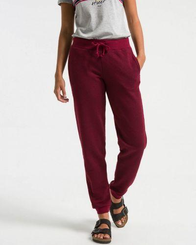 Спортивные брюки бордовый турецкий Ltb