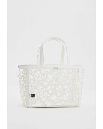 Белая сумка Tous
