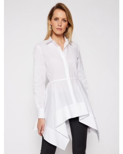 Biały tunika Karl Lagerfeld