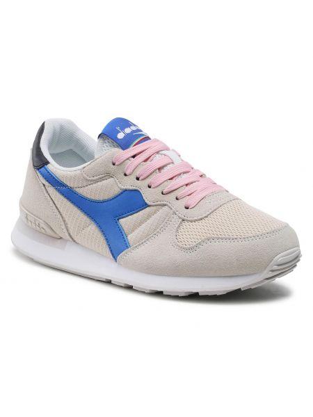 Buty sportowe skorzane - beżowe Diadora
