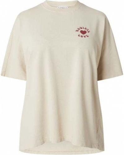 Beżowa bluzka bawełniana Catwalk Junkie