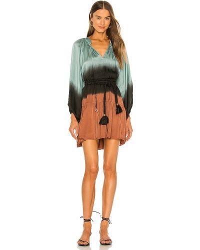 Платье мини атласное Karina Grimaldi