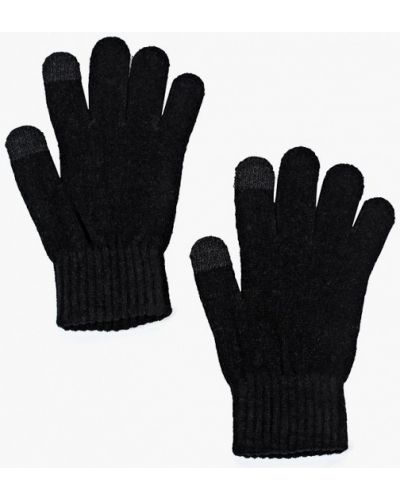 Черные перчатки текстильные Ovs