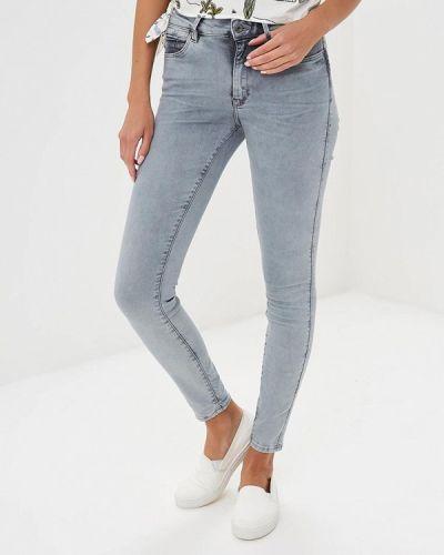 Серые джинсы-скинни G-star