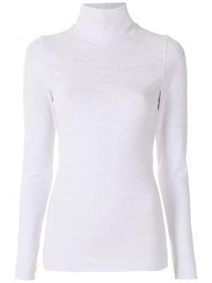 Блузка с воротником - белая À La Garçonne