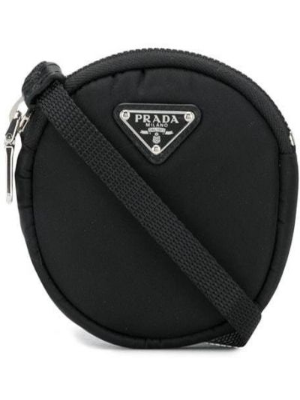 Czarna torebka crossbody Prada