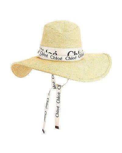 Złoty kapelusz vintage Chloe