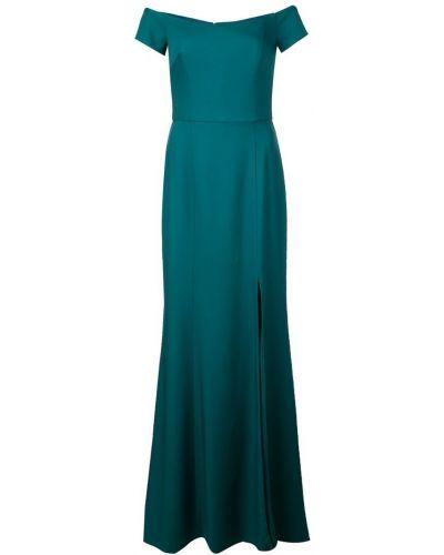 Приталенное расклешенное вечернее платье Amsale